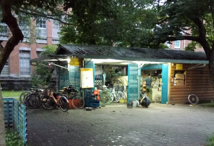 bike shack in taipei